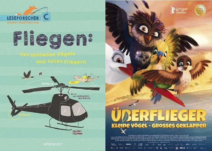 BERFLIEGER Kleine Vögel großes Geklapper - Gewinnspiel: ÜBERFLIEGER - Kleine Vögel, großes Geklapper