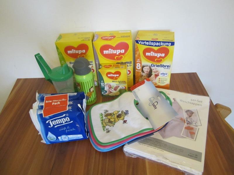 zwei neue Testpakete von windeln.de!