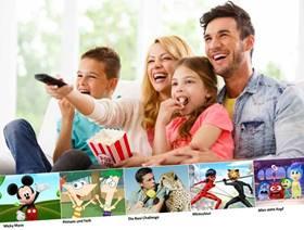 Gewinnspiel: Disney Channel Familien-Überraschungspaket