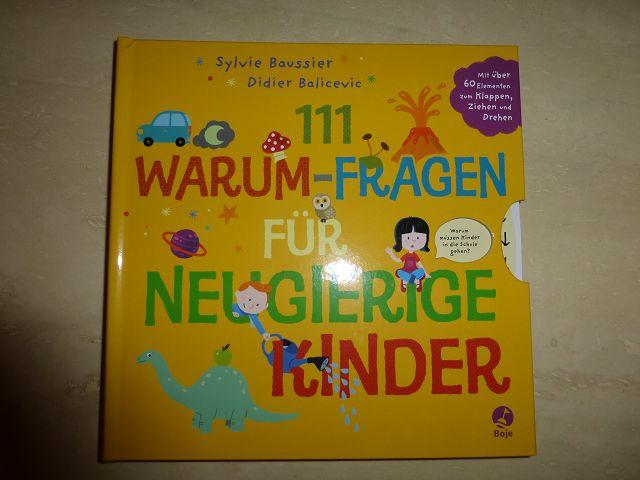 111 Warum Fragen für neugierige Kinder 1 - Rezension: Buch 111 Warum - Fragen für neugierige Kinder