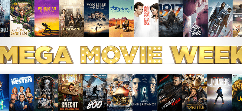 Start der MEGA MOVIE WEEK
