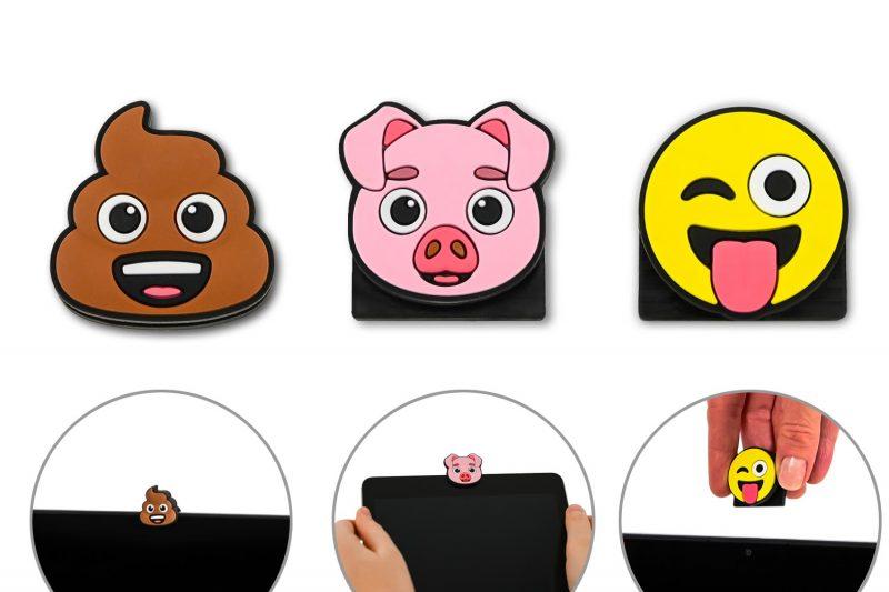 Gewinnspiel: Webcam Abdeckung im 3D Emoji Design von hidemonkeys