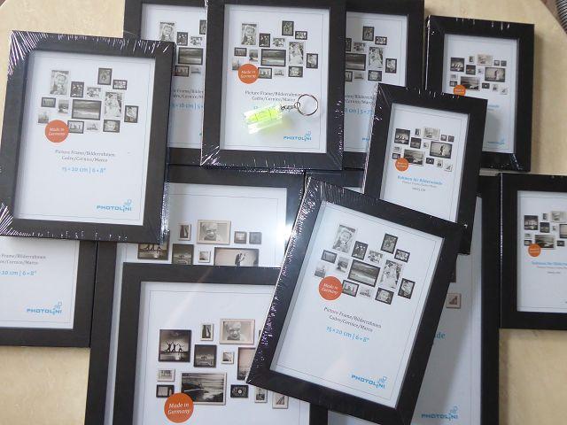 Produkttest: 12er Set Bilderrahmen von Photolini