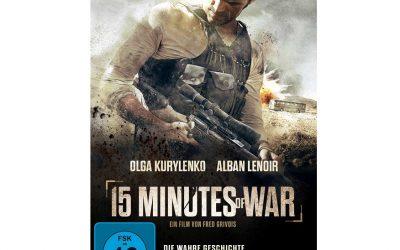 15 MINUTES OF WAR DVD Gewinnspiel