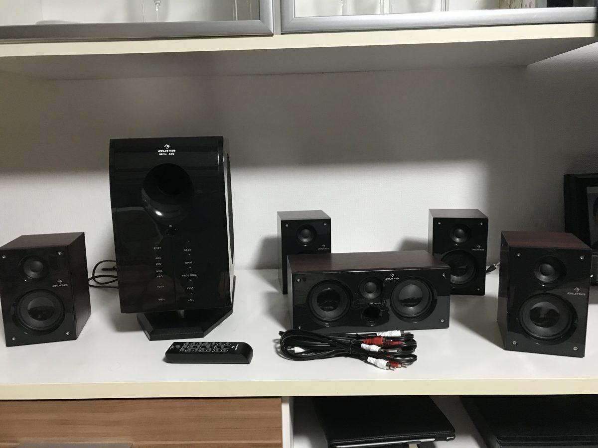 Produkttest-auna Areal 525 BK Surroundsystem