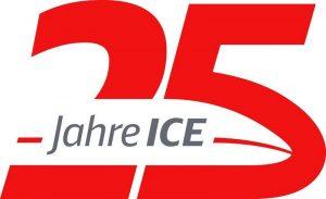 25 Jahre ICE Jubiläumssignet