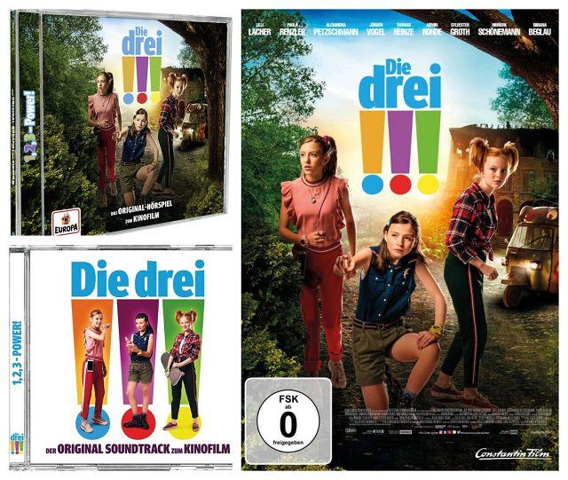 Ferien-Gewinnspiel: DIE DREI !!!
