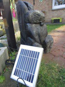 Solarbrunnen im Test