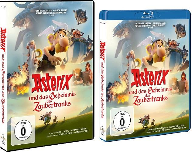 Gewinnspiel: ASTERIX UND DAS GEHEIMNIS DES ZAUBERTRANKS