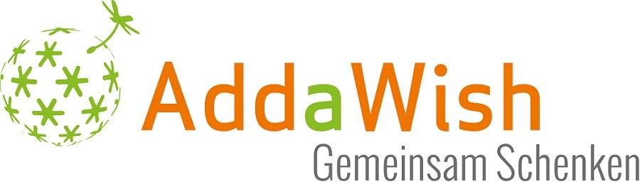 AddaWish Logo Gemeinsam Schenken Gr.