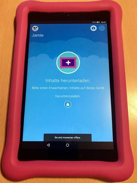 Amazon Fire HD 8 Kids Edition Test 2 450x600 - Produkttest: Amazon Fire HD 8 Kids Edition