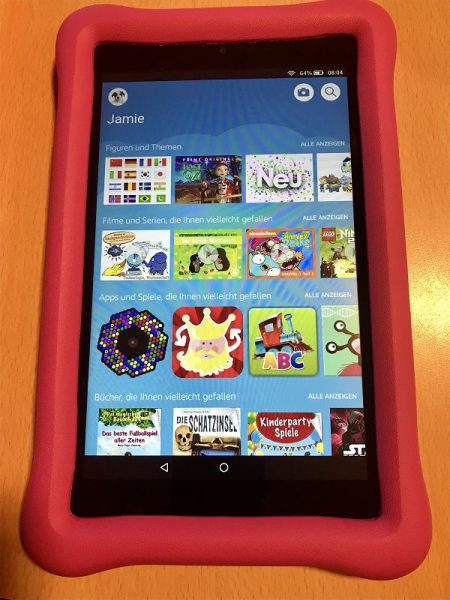 Amazon Fire HD 8 Kids Edition Test 3 450x600 - Produkttest: Amazon Fire HD 8 Kids Edition