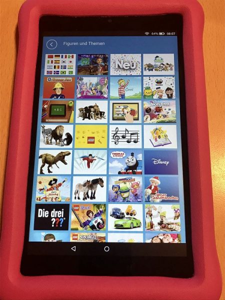 Amazon Fire HD 8 Kids Edition Test 4 450x600 - Produkttest: Amazon Fire HD 8 Kids Edition