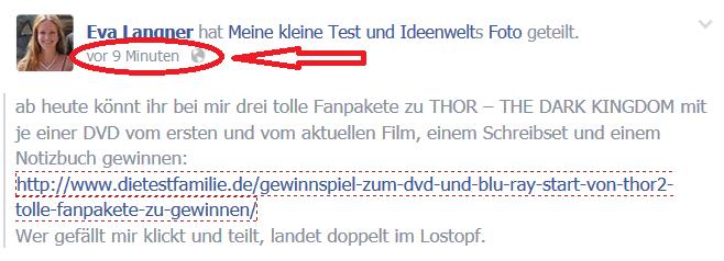 Anleitung Teilen bei facebook 04