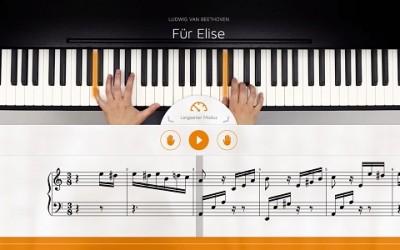 Ansicht des flowkey Players 400x250 - Gastartikel: Anfänger Keyboard
