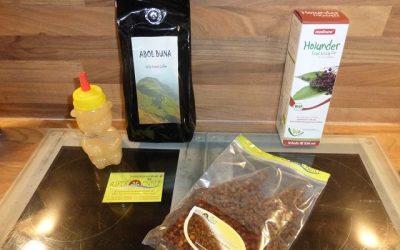 Aspermühle 1 400x250 - Produkttest: Kaffee, Honig, Holunder Saft und Bienenbrot von der Aspermühle