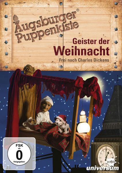 Gewinnspiel/Rezension -Augsburger Puppenkiste Geister der Weihnacht