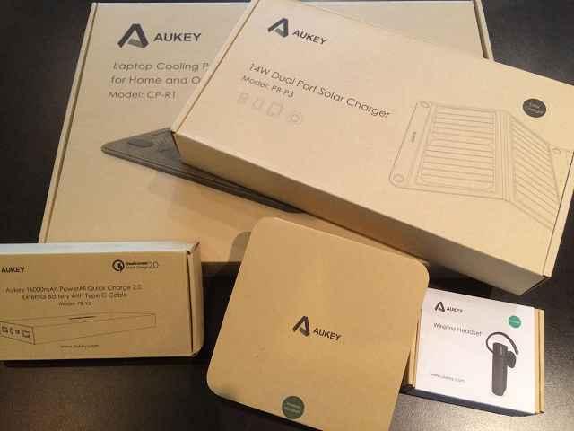 Aukey Produkttest 1 - Produkttest: AUKEY Bluetooth Kopfhörer, Headset und Laptop Kühler