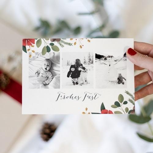 Selbst gestaltete Weihnachtskarten mit dem Atelier Rosemood