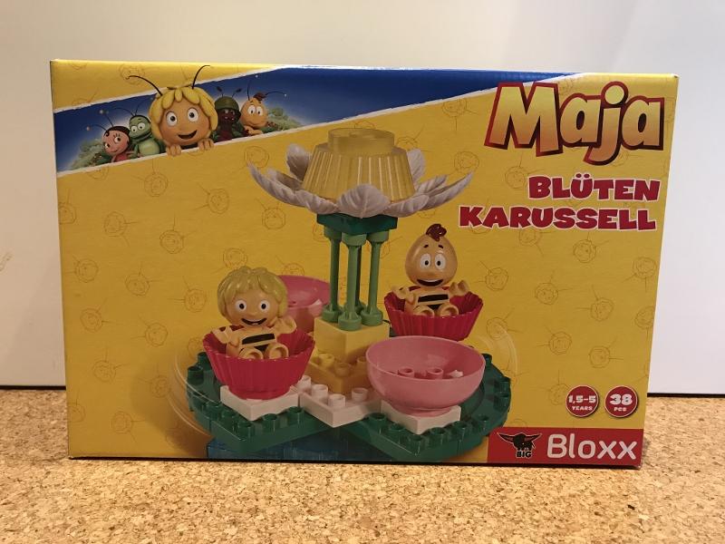 Produkttest: BIG-Bloxx Biene Maja Blütenkarussell