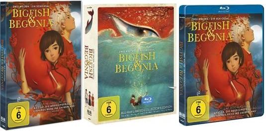 BIG FISH & BEGONIA DVD