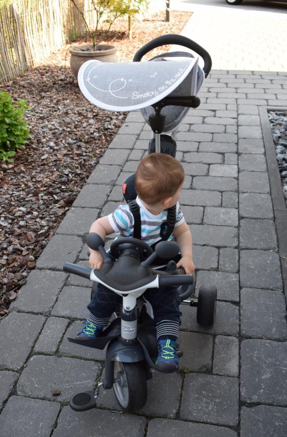 Produkttest: Baby Driver Komfort Titan von Smoby