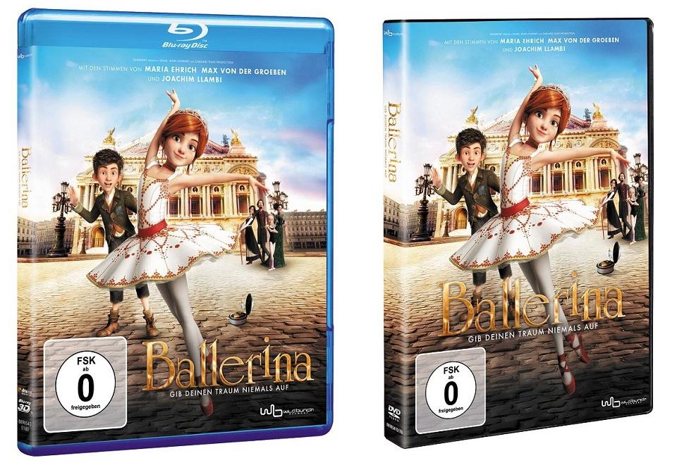 Ballerina TB - Gewinnspiel: Ballerina auf DVD und Blu-ray