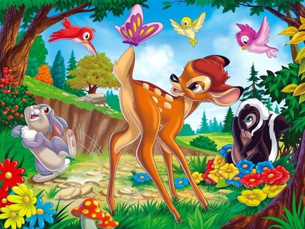 Bambi - Gewinnspiel: Disney Channel Oster Programm