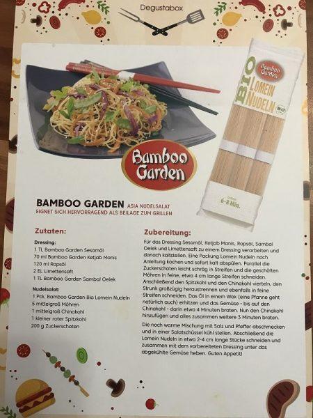 Bamboo Garden Lon Men Nudeln Rezept 450x600 - Produkttest: Degustabox Juni 2018