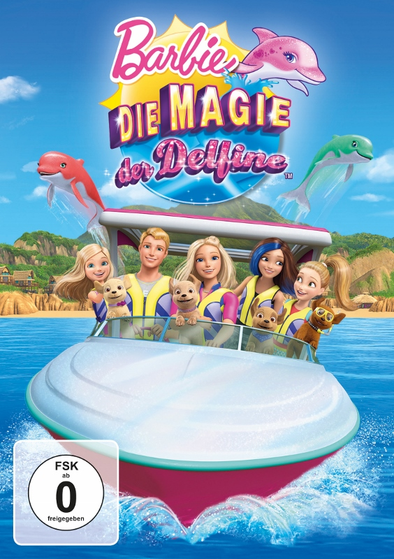 Rezension – Barbie-Die Magie der Delfine