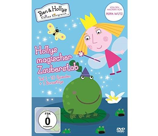 Ben Hollys kleines Königreich Hollys magischer Zauberstab Teil 1 auf DVD - Gewinnspiel: BEN & HOLLYS KLEINES KÖNIGREICH DVD 1