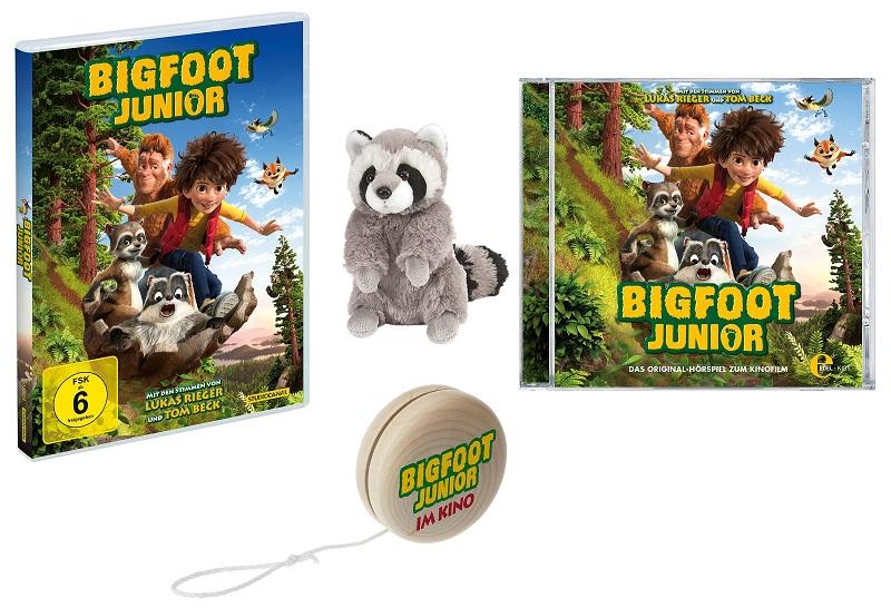 Adventskalender Tür 18: Drei Bigfoot Junior Fanpakete