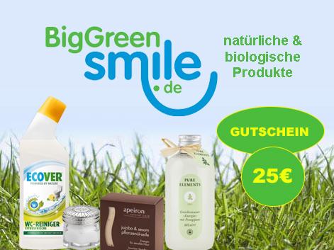 Gewinnspiel – BigGreenSmile.de