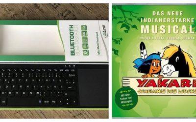 Bluetooth Slim Tastatur und Yakari Hörspiel