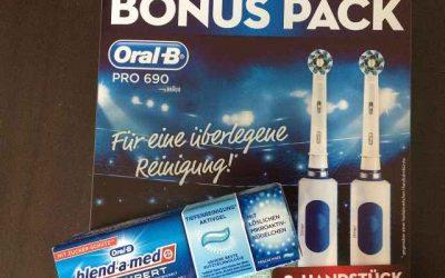 Braun Oral B Pro 690 1 400x250 - Produkttest: Braun Oral-B Pro 690 + 2. Handstück