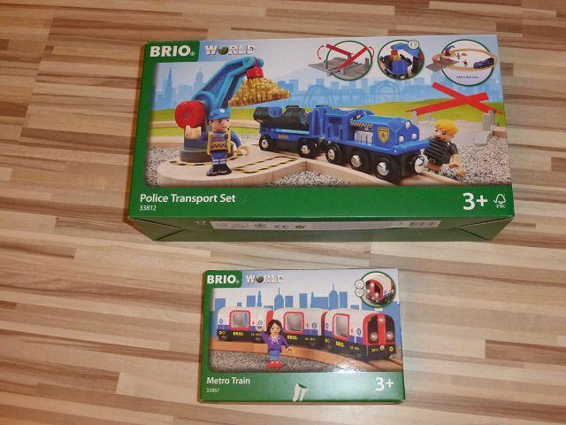 Gewinnspiel: Brio U-Bahn und Polizei Goldtransporter-Set