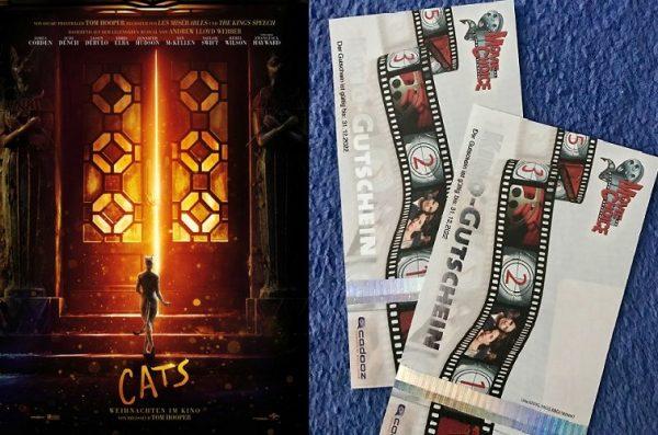 CATS Kinokarten Gewinnspiel