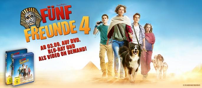 Rezension: FÜNF FREUNDE 4 auf DVD