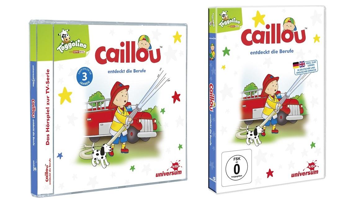 Caillou entdeckt die Berufe DVD und CD