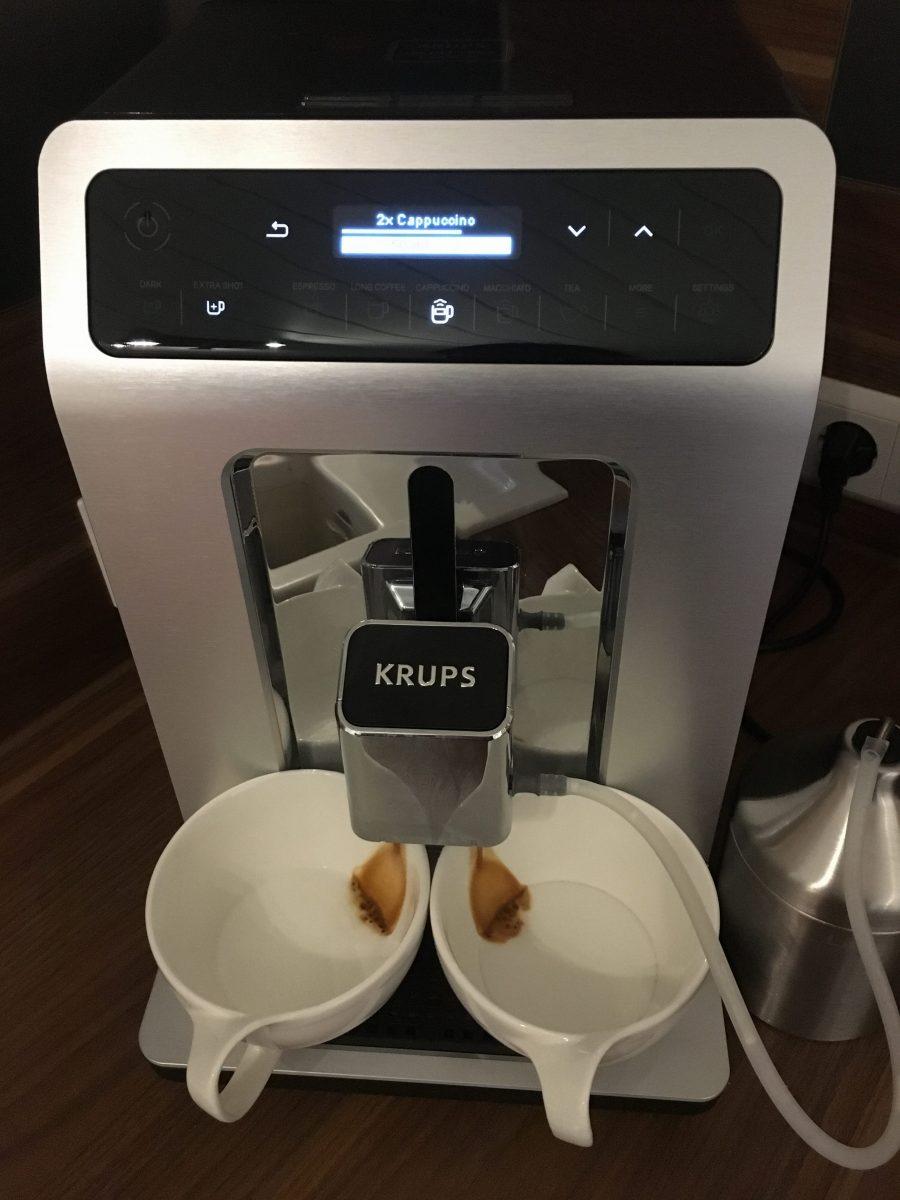 Krups EA891C Evidence -Bedienung Geschmack Reinigung
