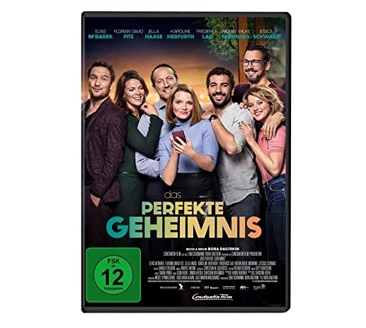 Gewinnspiel: DAS PERFEKTE GEHEIMNIS auf DVD