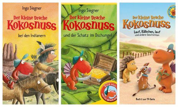 DER KLEINE DRACHE KOKOSNUSS - Buchpaket Gewinnspiel