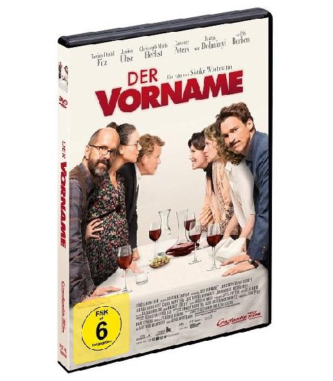 Gewinnspiel: DER VORNAME auf DVD