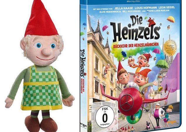 Gewinnspiel zum Heimkinostart von DIE HEINZELS - RÜCKKEHR DER HEINZELMÄNNCHEN