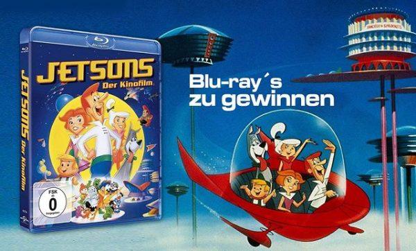 DIE JETSONS –DER FILM Blu-ray Gewinnspiel