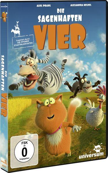 DIE SAGENHAFTEN VIER DVD