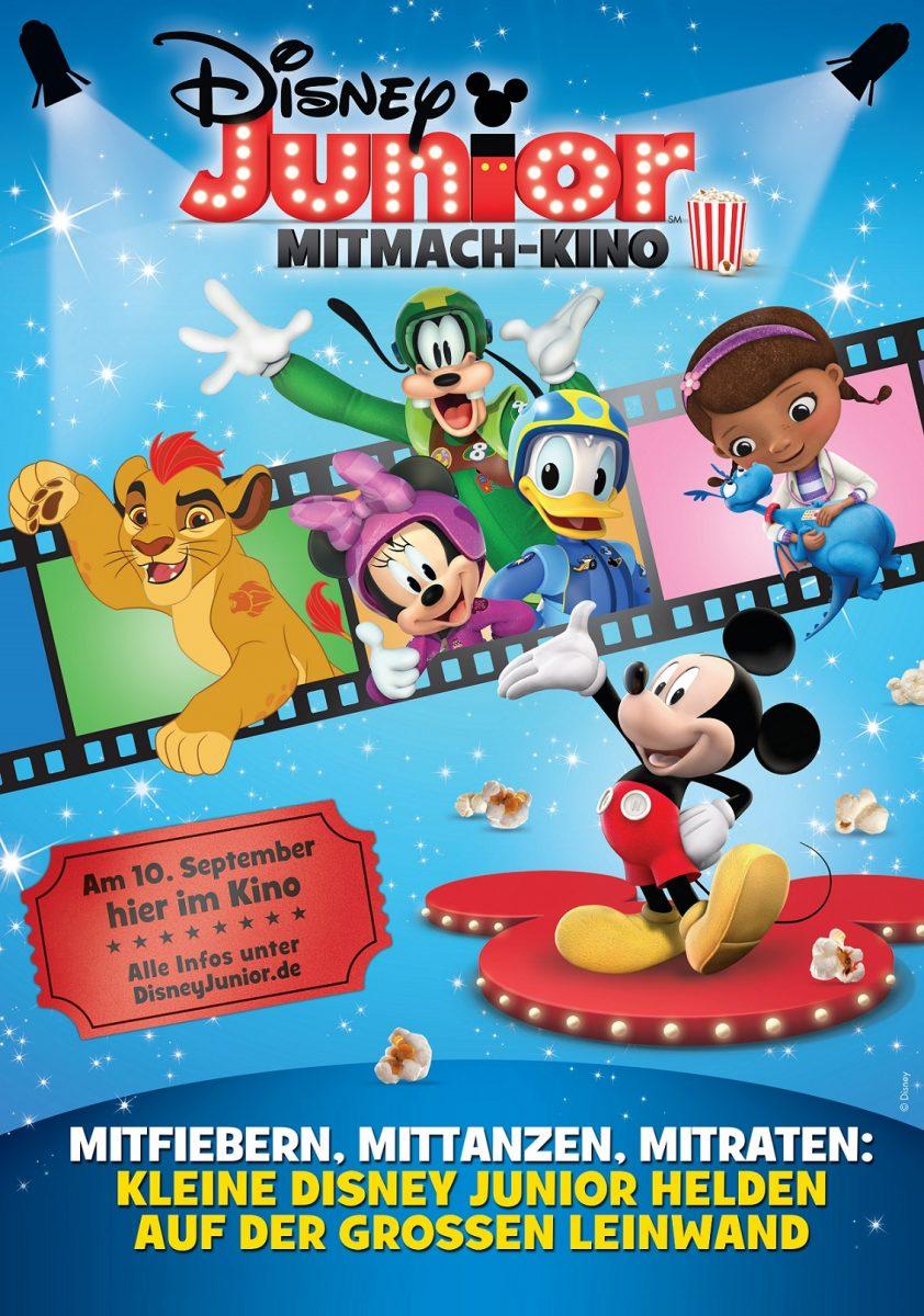 Gewinnspiel: DISNEY JUNIOR MITMACH-KINO Fanpakete