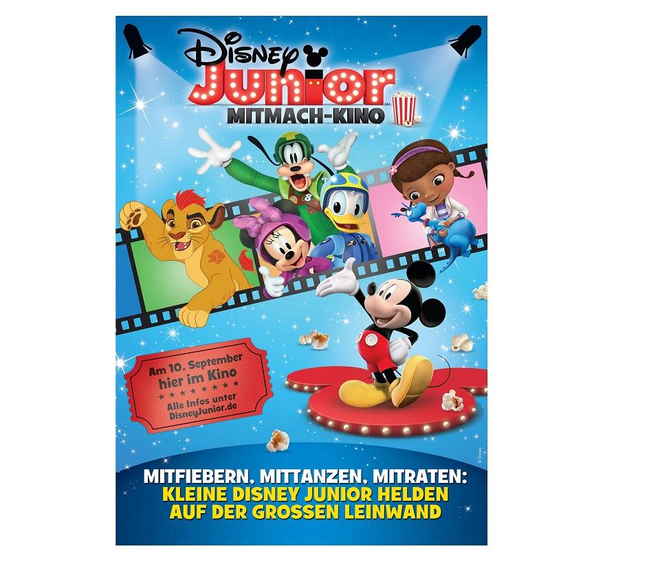 Gewinnspiel Disney Junior Mitmach Kino Fanpakete