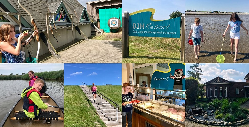 Familienurlaub im DJH Resort Neuharlingersiel