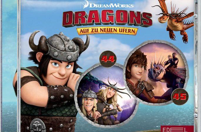 Gewinnspiel: DRAGONS AUF ZU NEUEN UFERN Folge 44+45